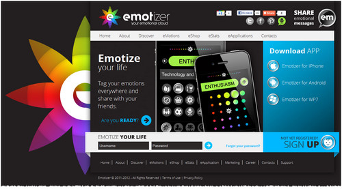 Emotizer è sempre più social application e con la nuova release 1.3 per iPhone