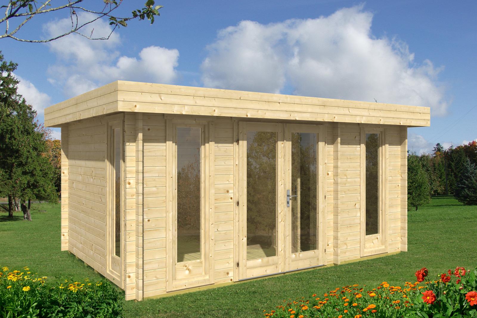 Casette in legno bungalow in legno e chalet per il for Chalet prefabbricati in legno prezzi