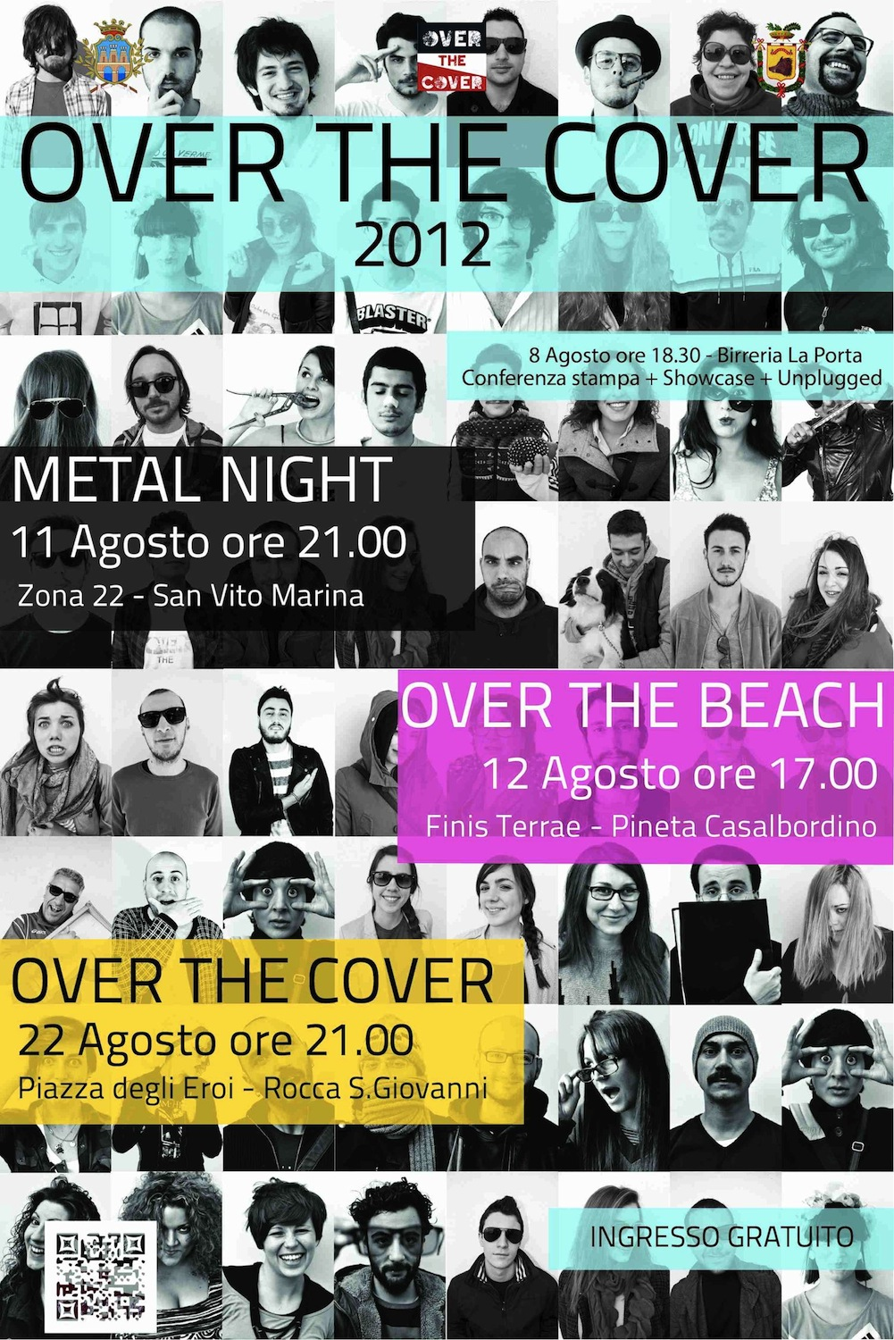 Serata esplosiva per l'ultimo atto di OVER THE COVER