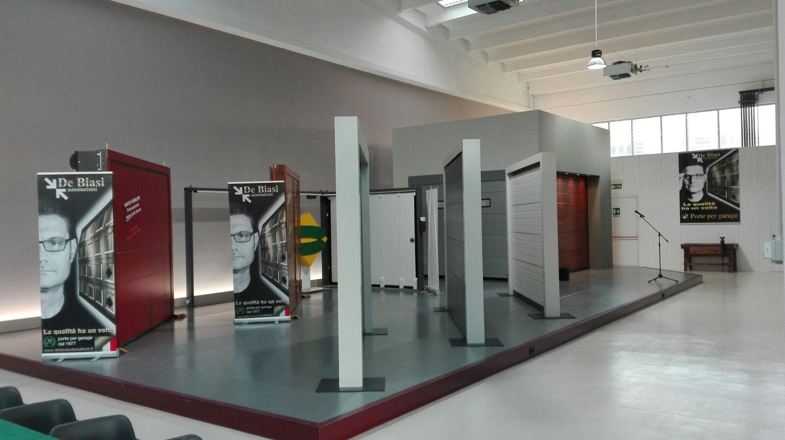 Nuovo showroom per i portoni breda a mantova for Breda portoni