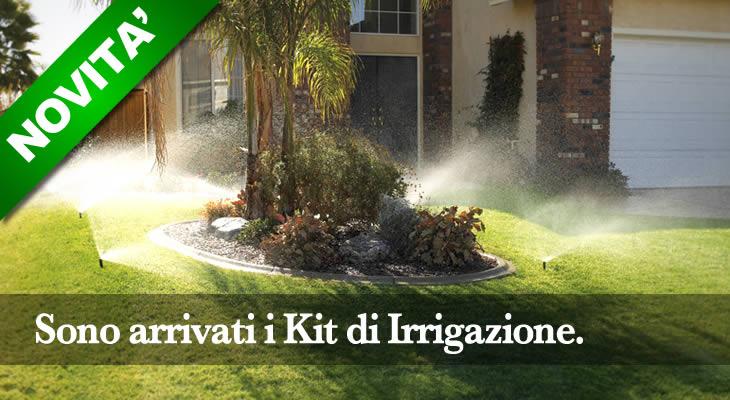 Impianto di irrigazione giardino un kit fai da te - Piscina fai da te interrata ...