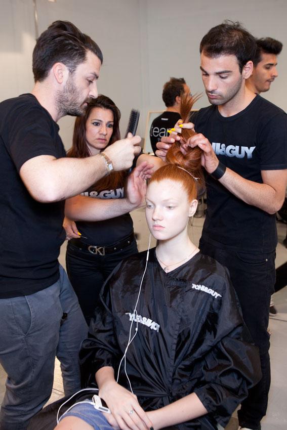 Il team toni guy modica a milano per il fashion show 2011 for Marangoni milano
