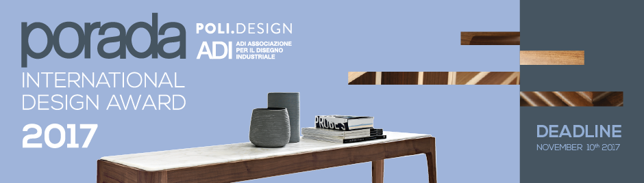 Porada international design award 2017 for International decor 2017