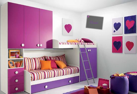 Casa moderna roma italy camerette per ragazze moderne prezzi for Camerette per ragazze