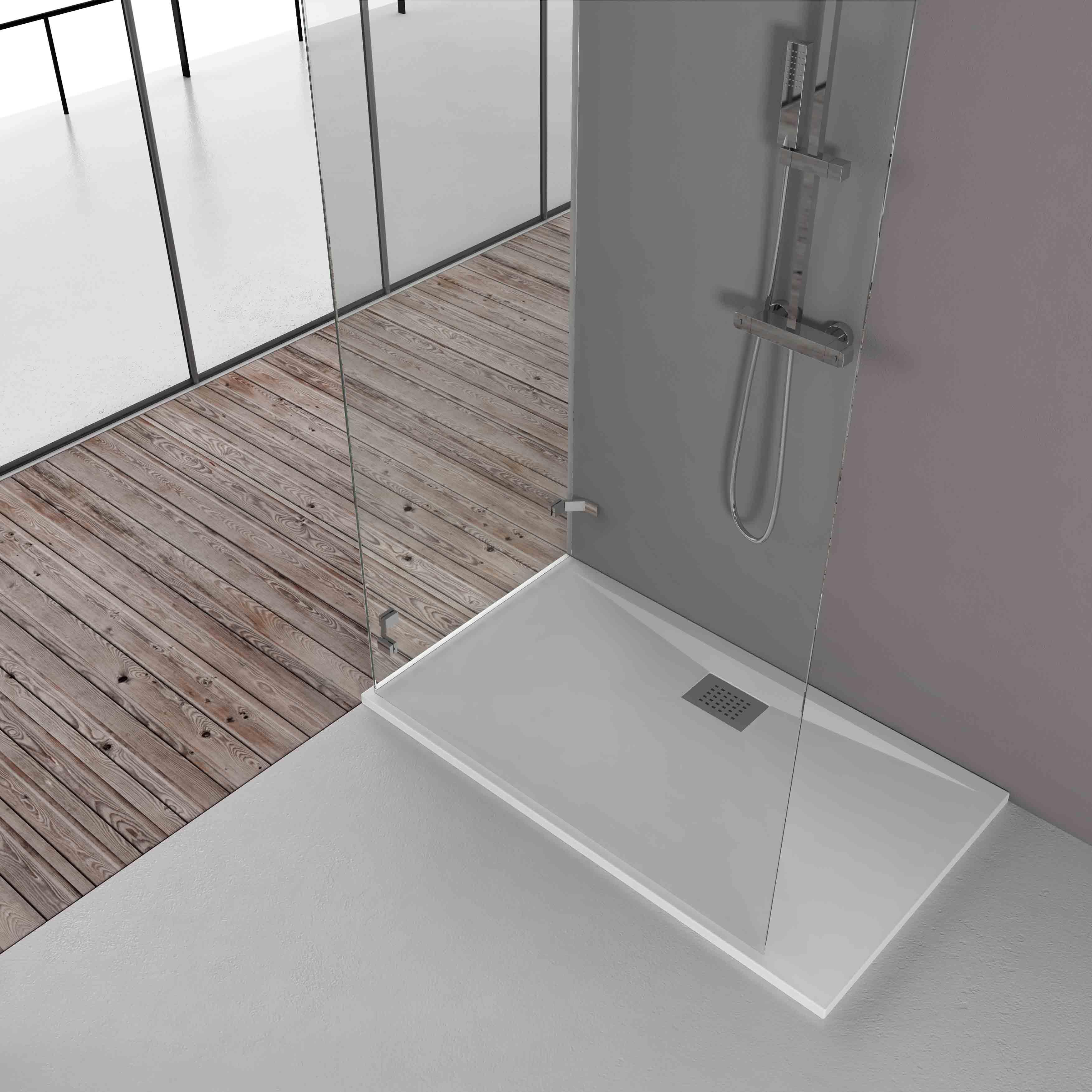 I piatti doccia di grandform tecnologia ed estetica for Doccia a pavimento senza piatto