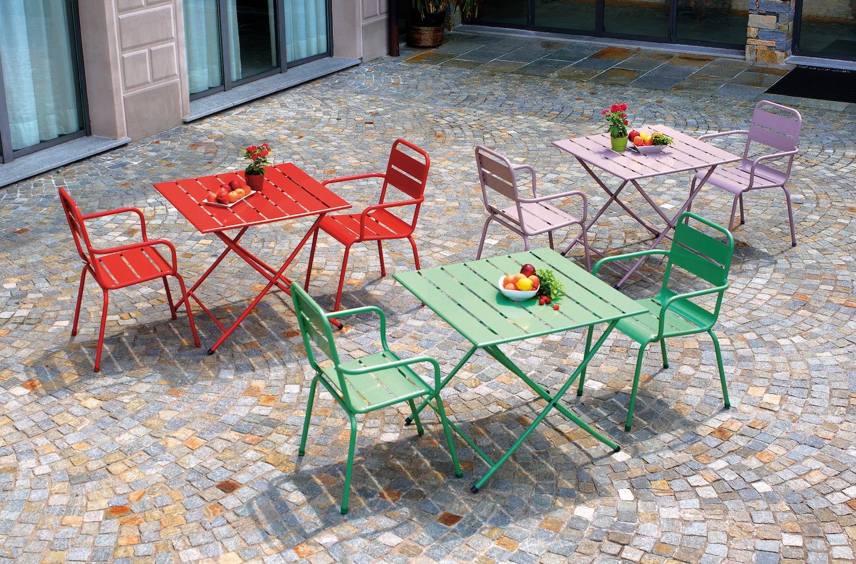Sedie Colorate Da Giardino.Sedie Da Esterno Colorate