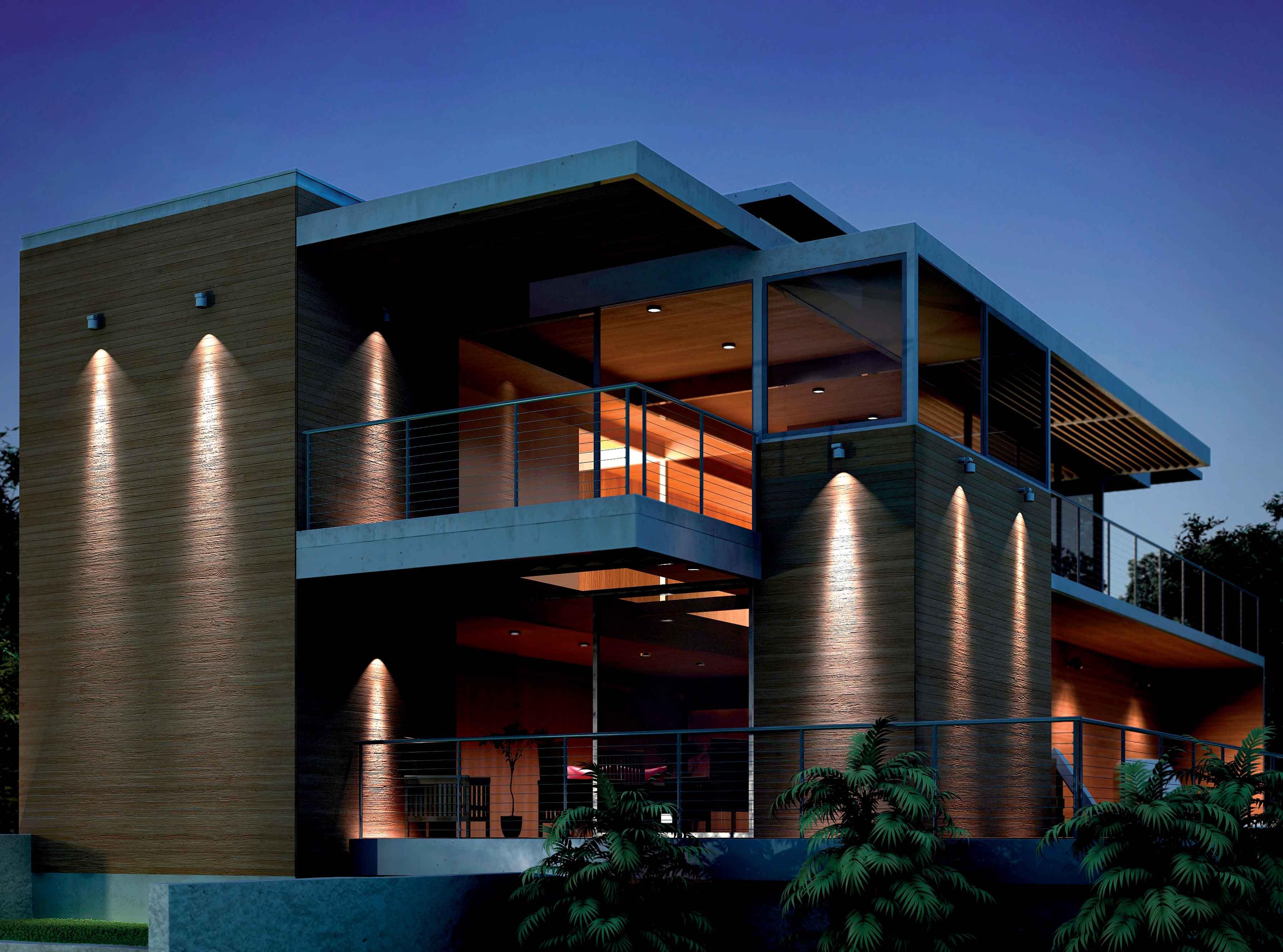 Domino led di bpt group la luce si proietta nel futuro for Illuminazione esterna casa