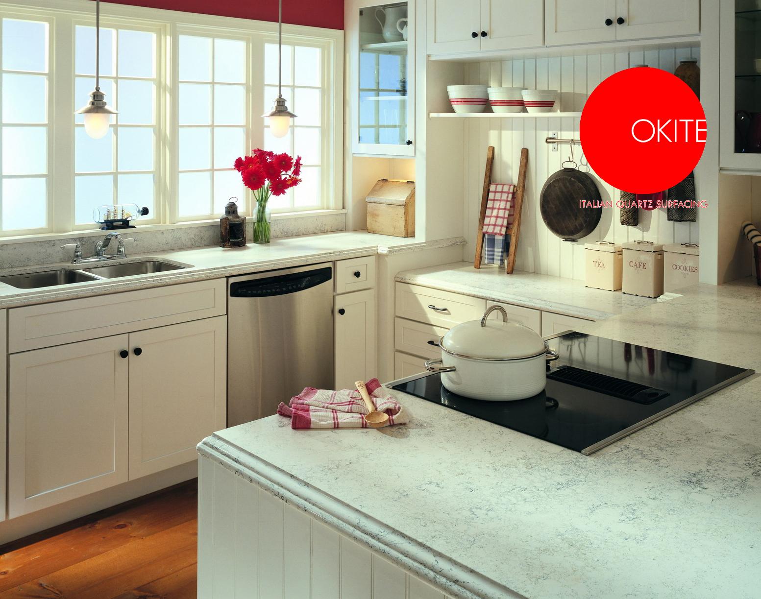 Okite n 1 negli usa fra le superfici in quarzo for Okite countertops
