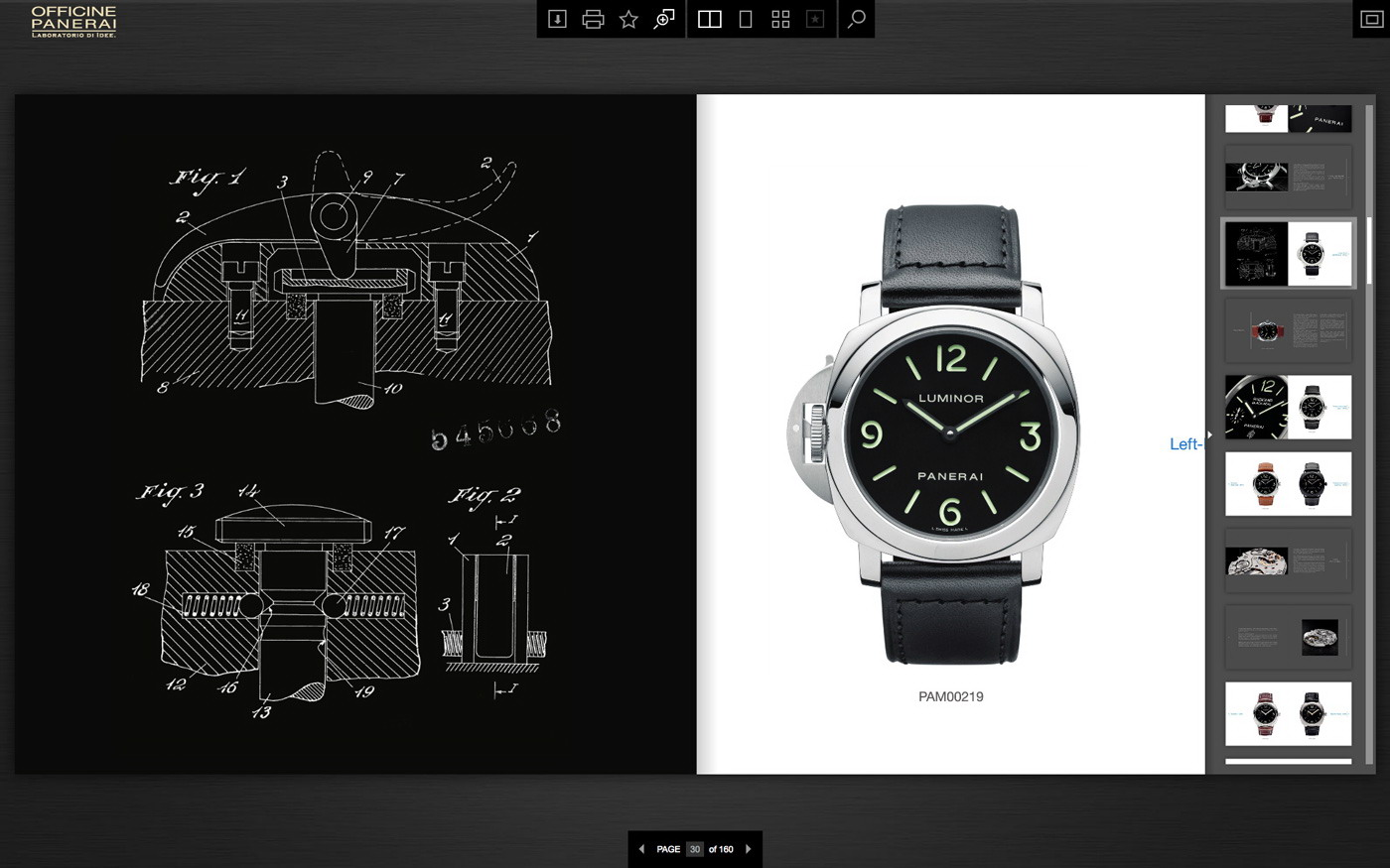 Officine panerai it 39 s time to be digital for Officine panerai milano
