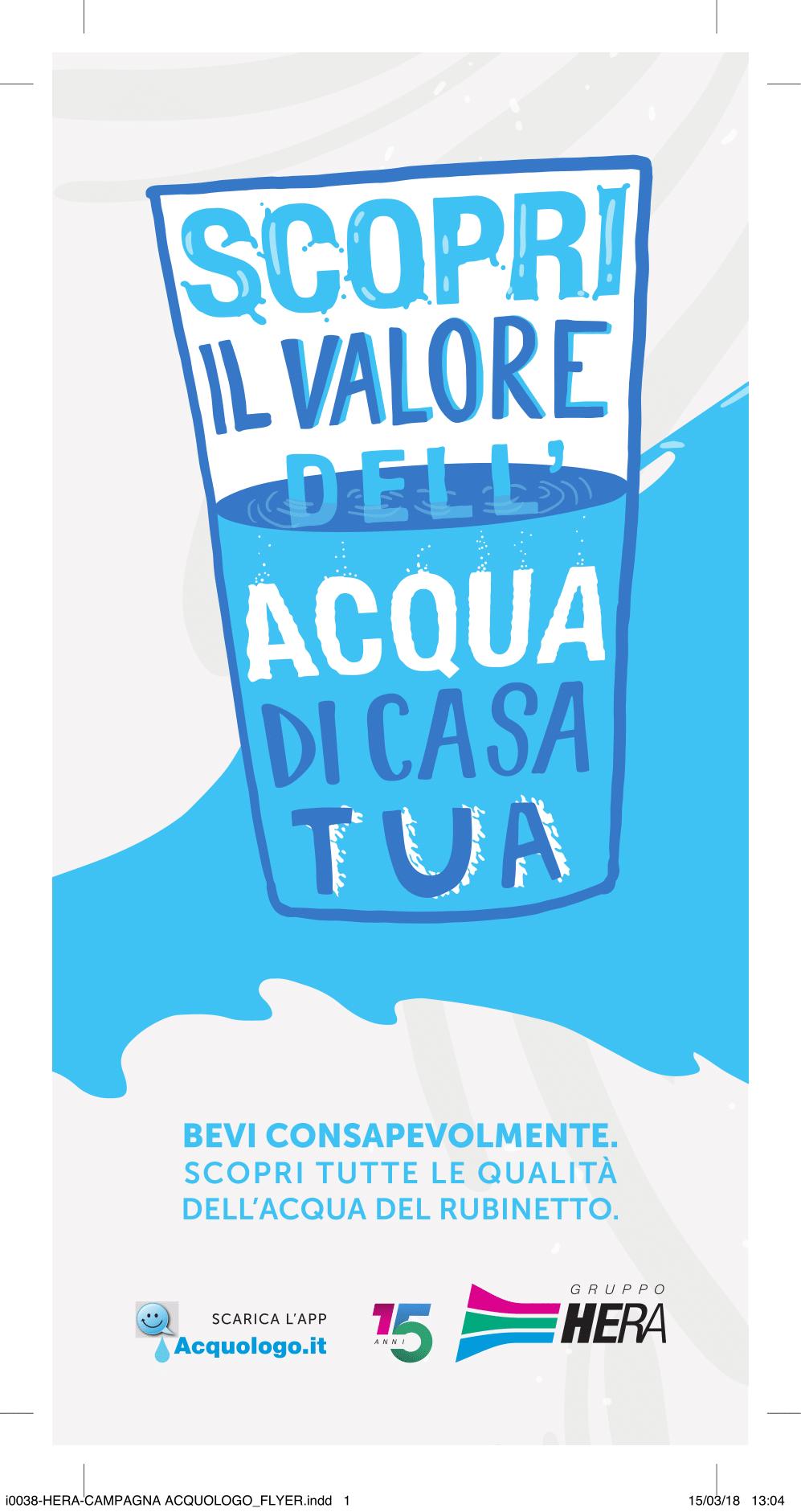 Scopri il valore dell acqua di casa tua - Depurare l acqua di casa ...